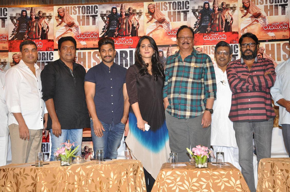 Rudramadevi movie success meet photos-HQ-Photo-8