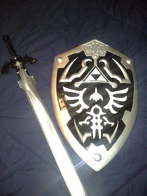 Master Sword & Hyrule Shield