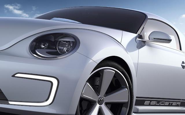 Volkswagen E-Bugster Concept detail