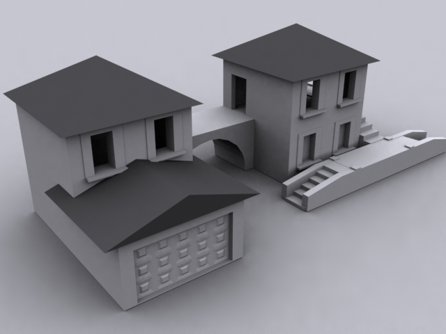 3d max tutorial house modeling