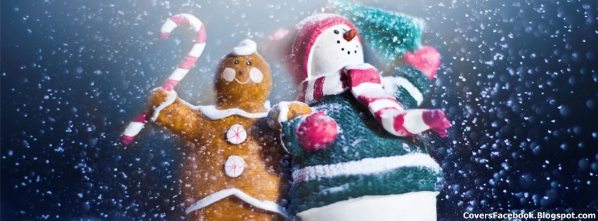 Snow Man Cute FB Timeline Covers
