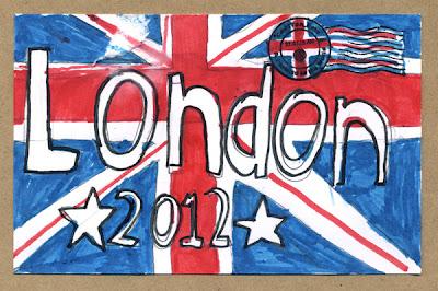 London 2012 by Sadie May Barnett