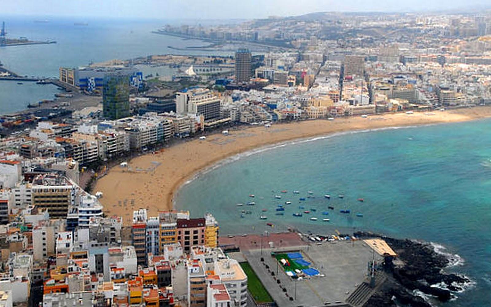 De la zeca a la meka gran canaria 2 d a la capital for Playa ciudad jardin