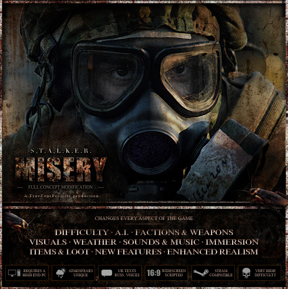 stalker call of misery вылетает
