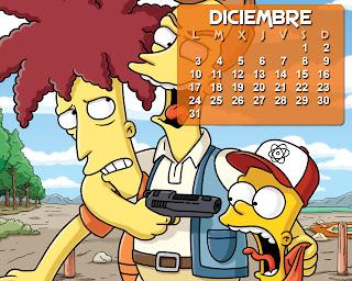 calendario_los_simpson_diciembre