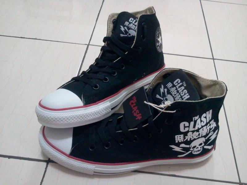 1c9b8339f9c Boram-Boran.โบร่ำโบราณ  The CLash X Converse Shoe - ( SOLD )