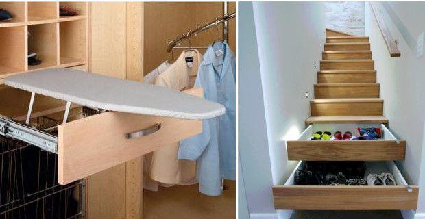 Ideas y tips para ahorrar espacio en casa trasteros y for Ideas muebles para poco espacio