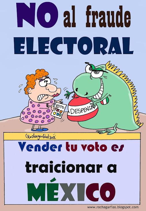 Vender tu voto traicionar a México.