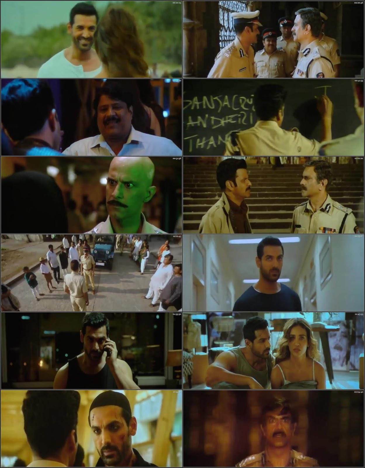 Satyameva Jayate 2018 Bollywood 300MB Hindi Pre DVDRip 480p