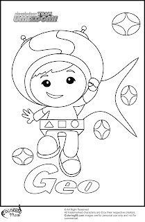 geo team umizoomi coloring pages