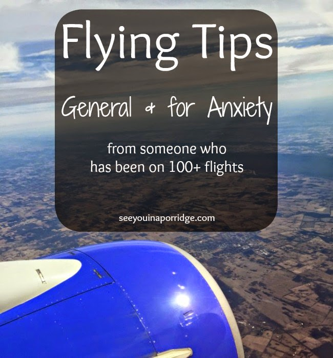 Flying tips - general & for anxiety!