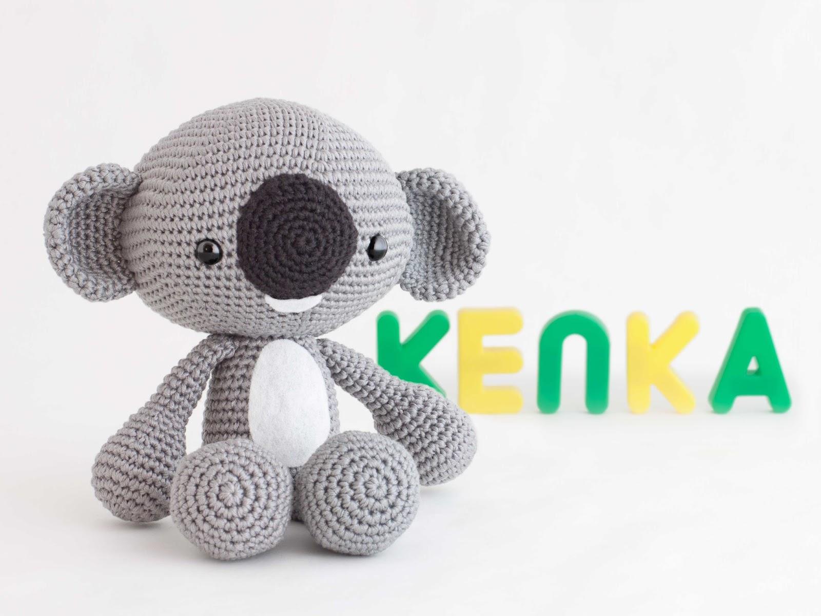 Patron Amigurumi De Koala : Mis PequiCosas: Felicidades Alejandra!