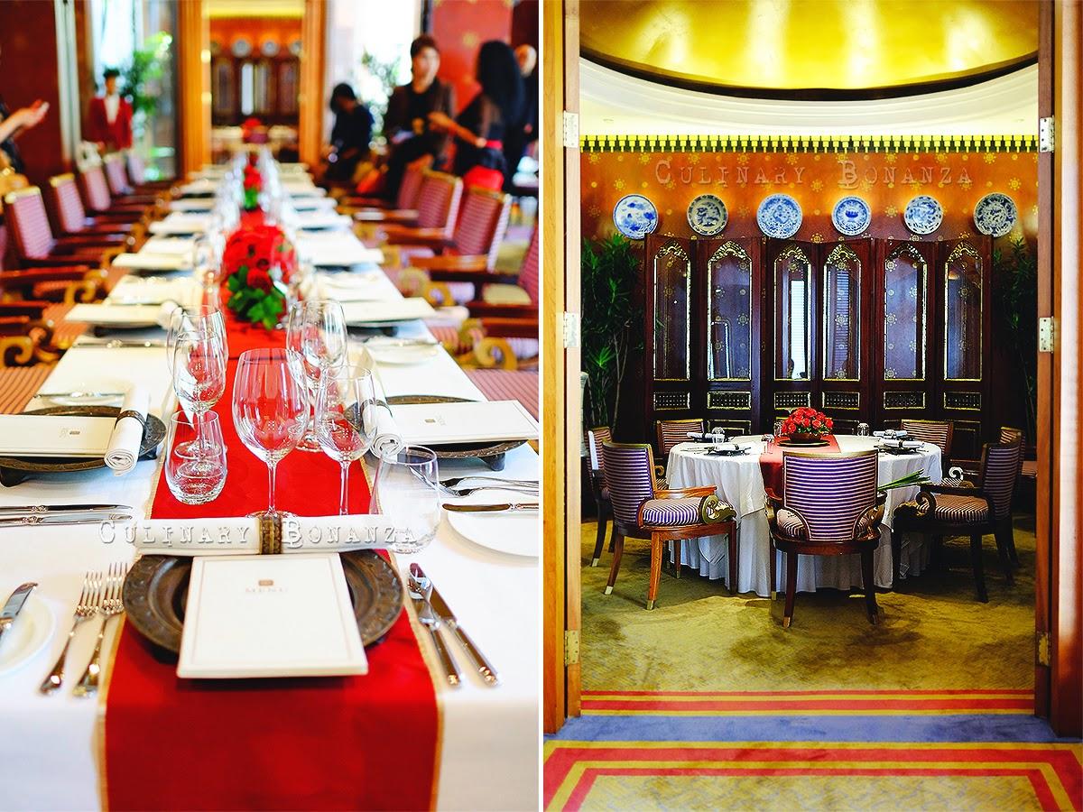 Sriwijaya fine dining Restaurant at The Dharmawangsa Jakarta