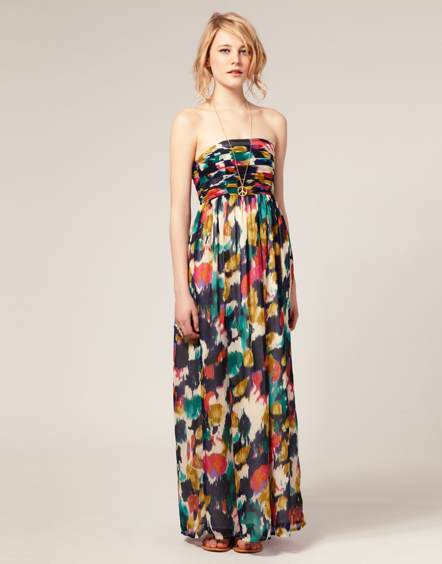 maxi dress bruiloft gast