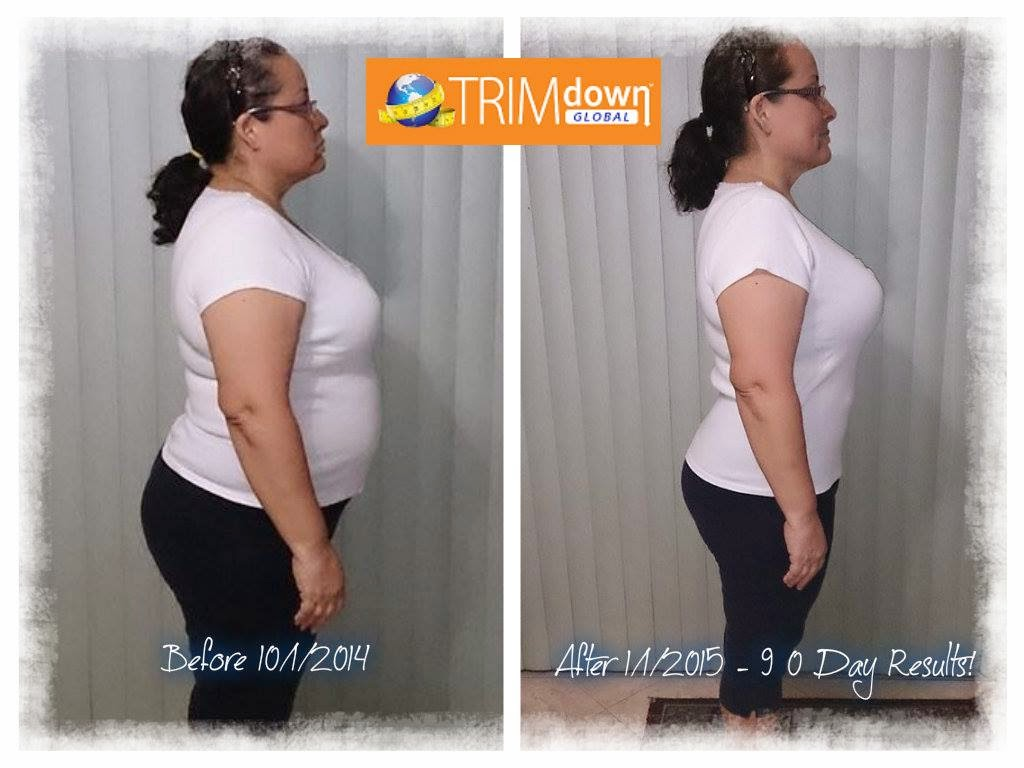 90 Day results on Trim Down Fiber Plus+!!!