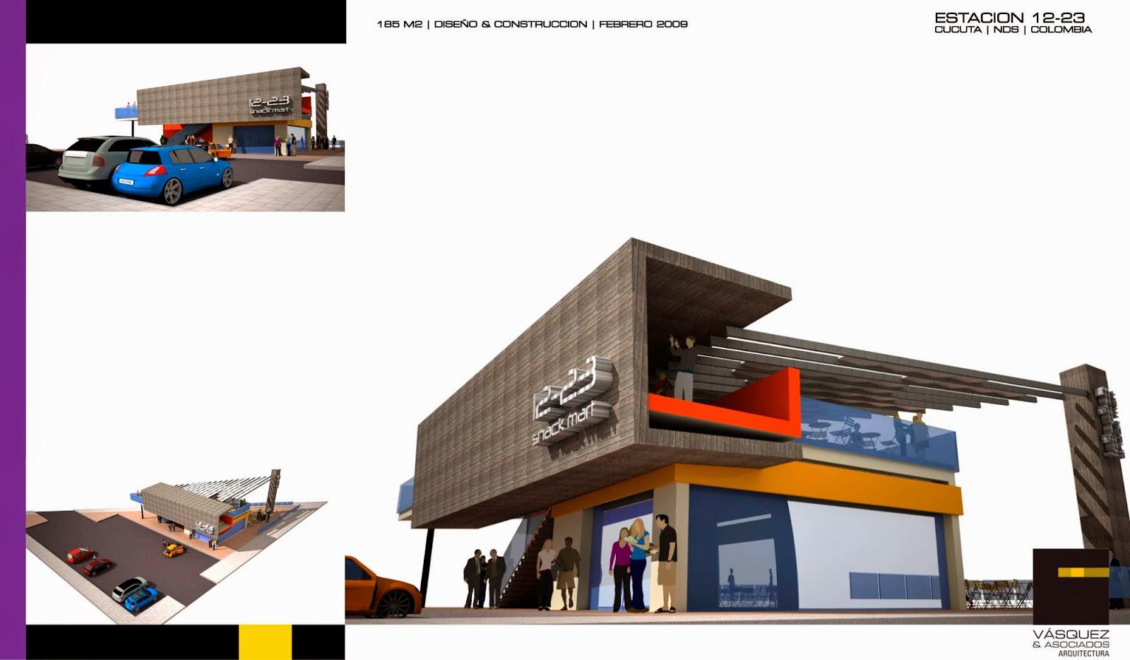 Vasquez y asociados arquitectura ltda snak mart 12 23 for Genesis arquitectura y diseno ltda