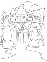 Fairy Tale Castle Coloring Pages