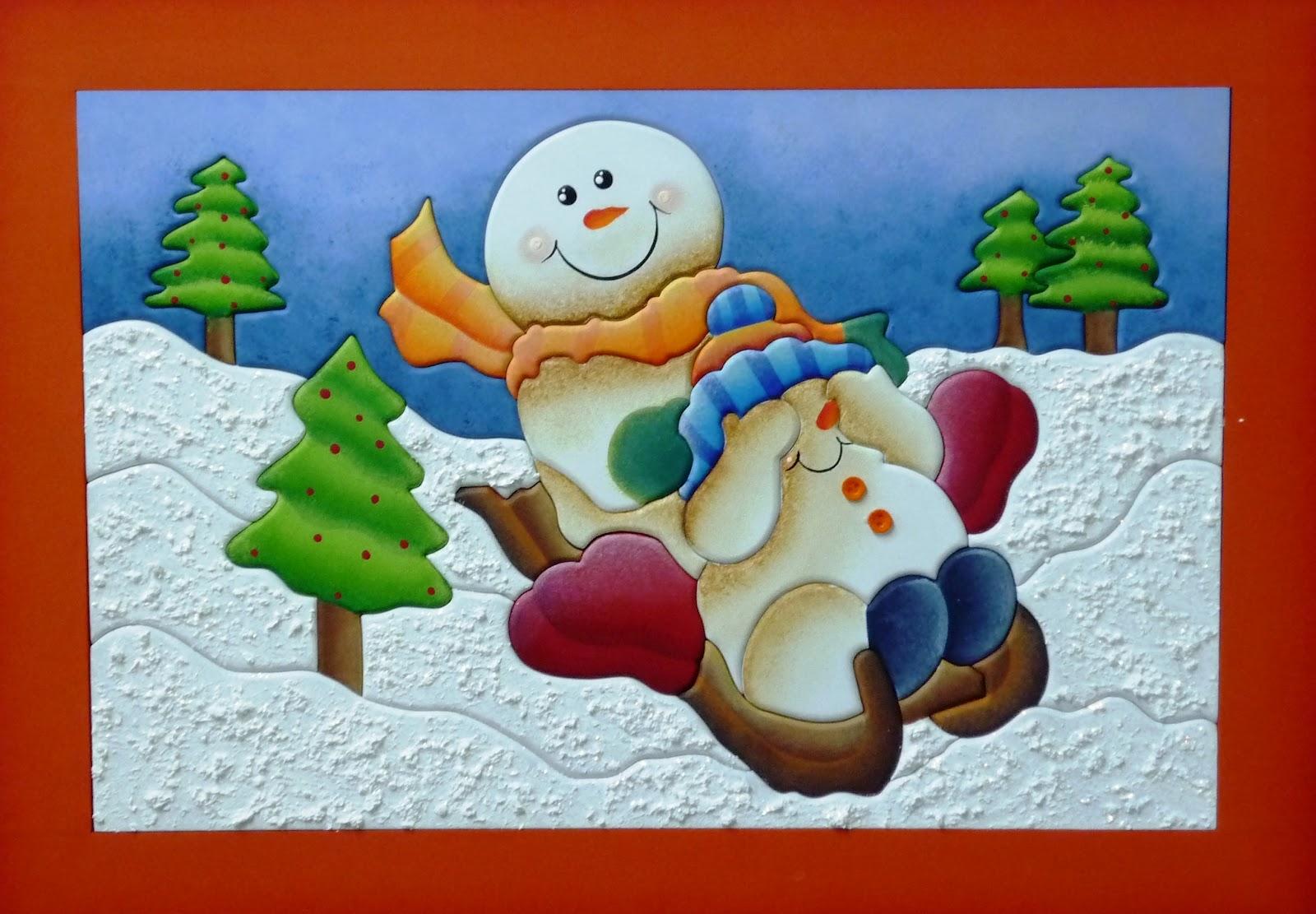 Mente creativa individuales navide os en country - Decorativos para navidad ...