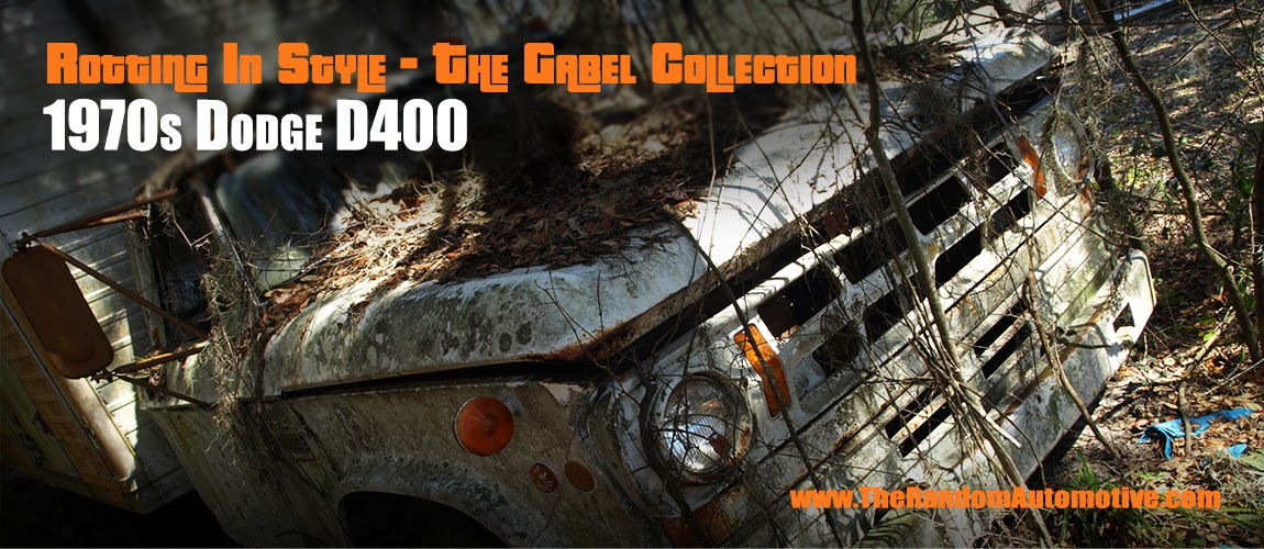 1970 dodge d400 turck rotting in style central florida the gabel collection