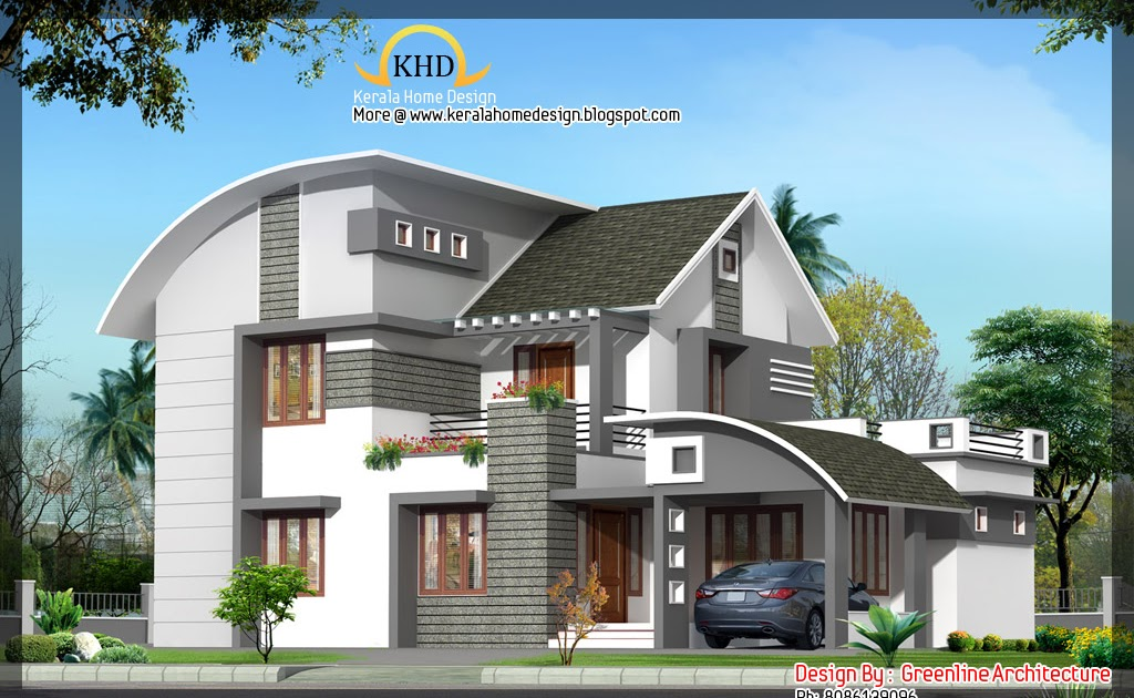 House elevation 2000 sq ft home appliance for Kerala home designs com