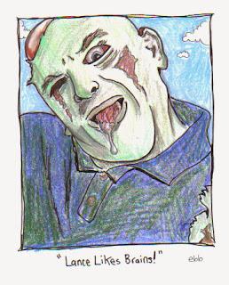 Lance Eaton - Zombie version
