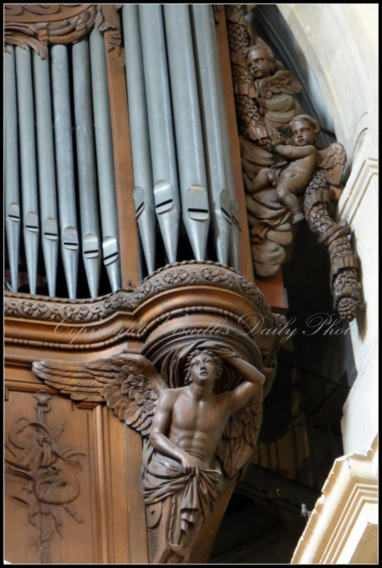 Orgue Organ Cathédrale Saint Louis Versailles