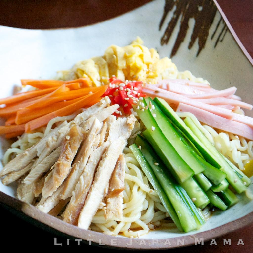 Hiyashi Chuka (Cold Ramen Noodles) Recipe 冷やし中華