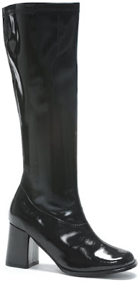 Black Gogo Boots for Halloween