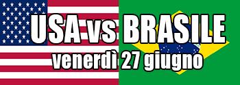 USA vs BRASILE: semifinale della QCW