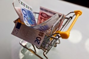 geld uitgeven euro boodschappen kleding inkopen free fashion challenge