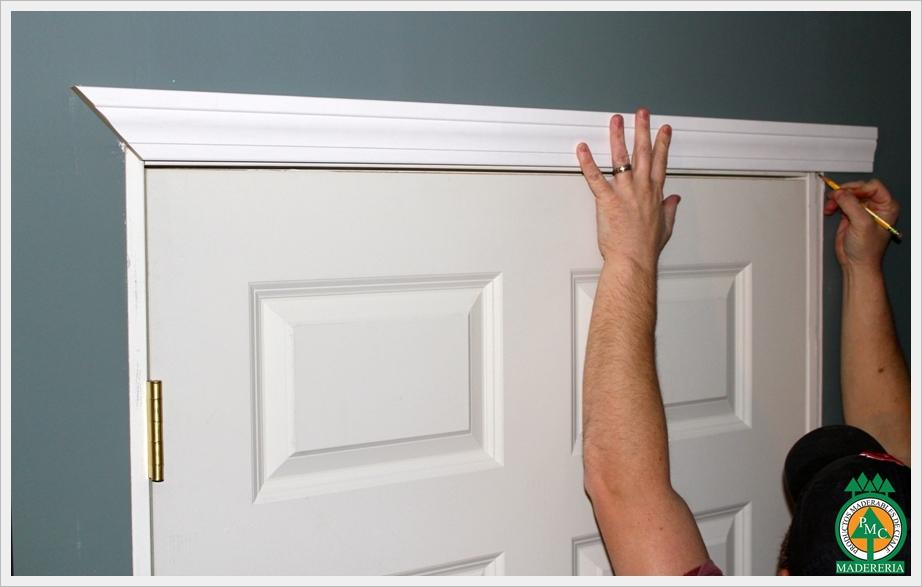 Productos maderables de cuale c mo medir puertas for Como hacer un marco de madera para puerta