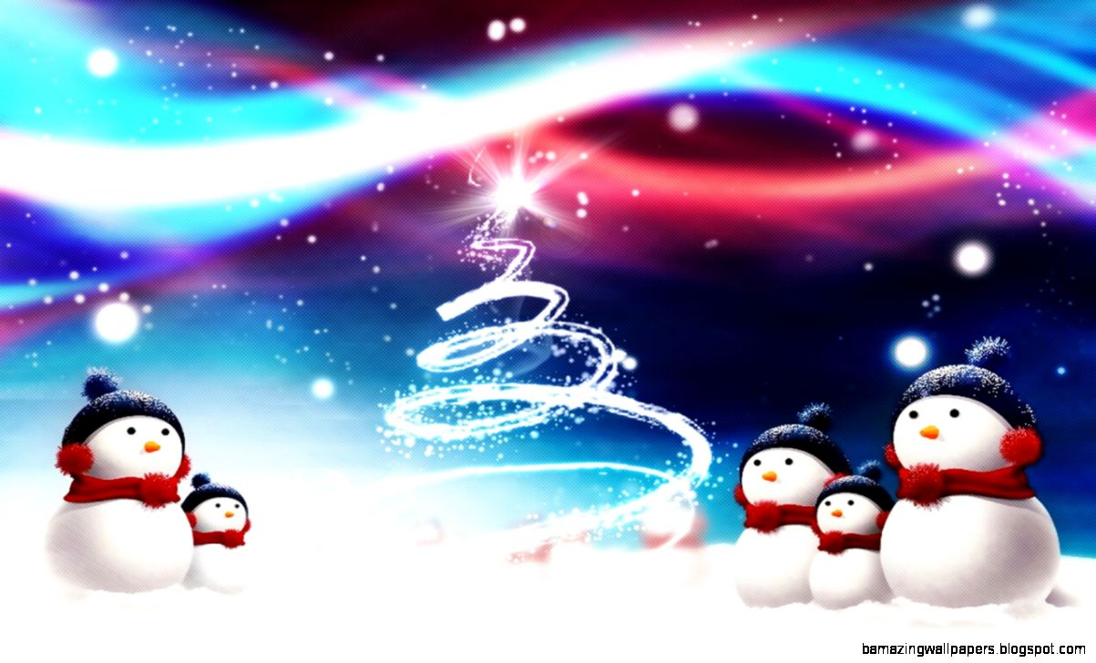 cool snowman background free  1280x800  376 kB by Grainger Thomas