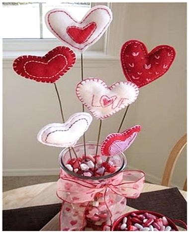 El minihogar for Decorar mesa san valentin