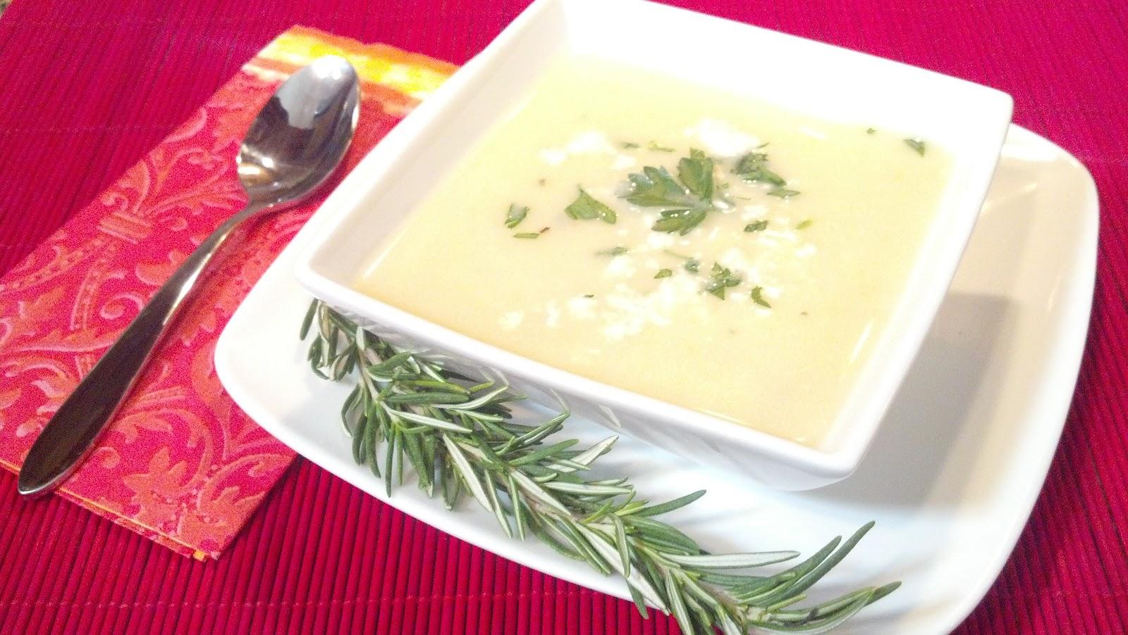Half Moon Bay Rosemary Potato Blue Cheese Soup | My Sweet California ...
