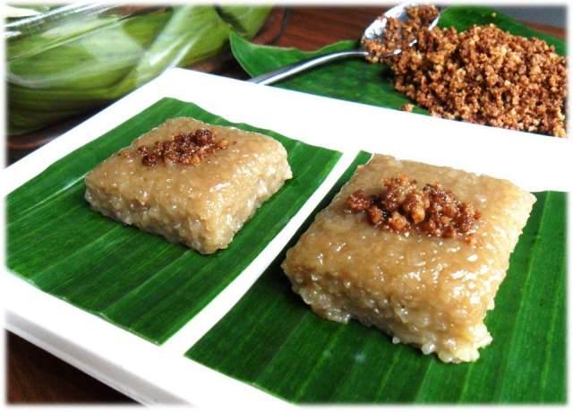 my twisted recipes: Biko (Sweet Sticky Rice)