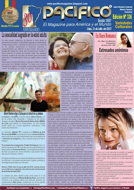 Revista Pacífico Nº 336 Variedades Culturales
