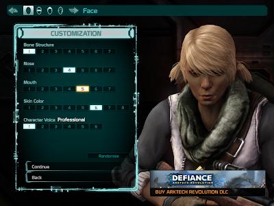 Defiance - Finetune Face