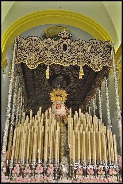 Palio de la Virgen de La O Sevilla 2013