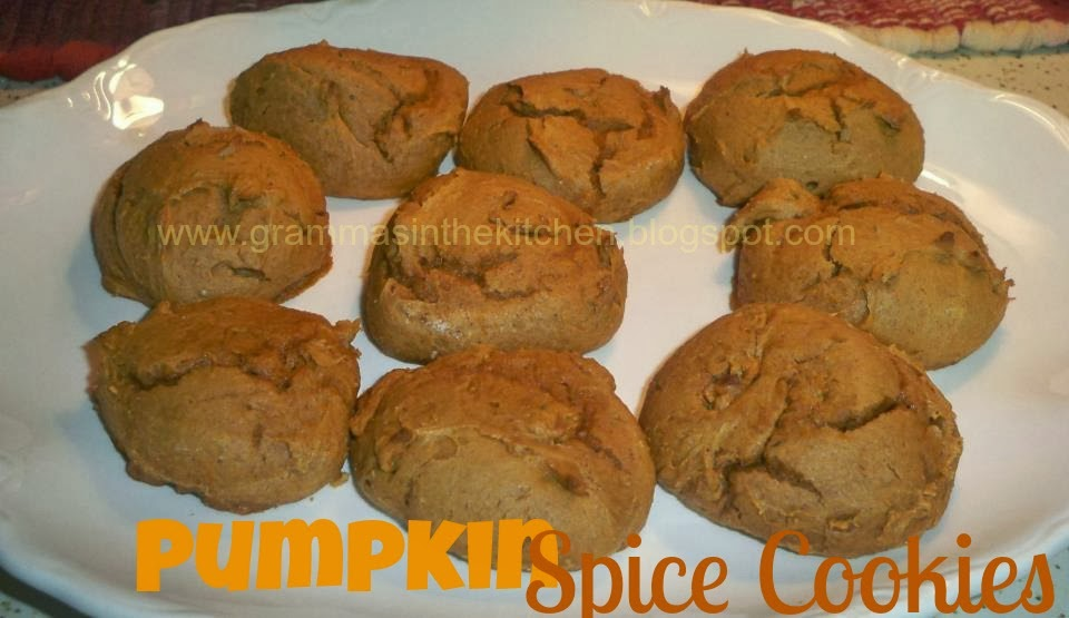 Pumpkin Drop Cookies With Spice Cake Mix