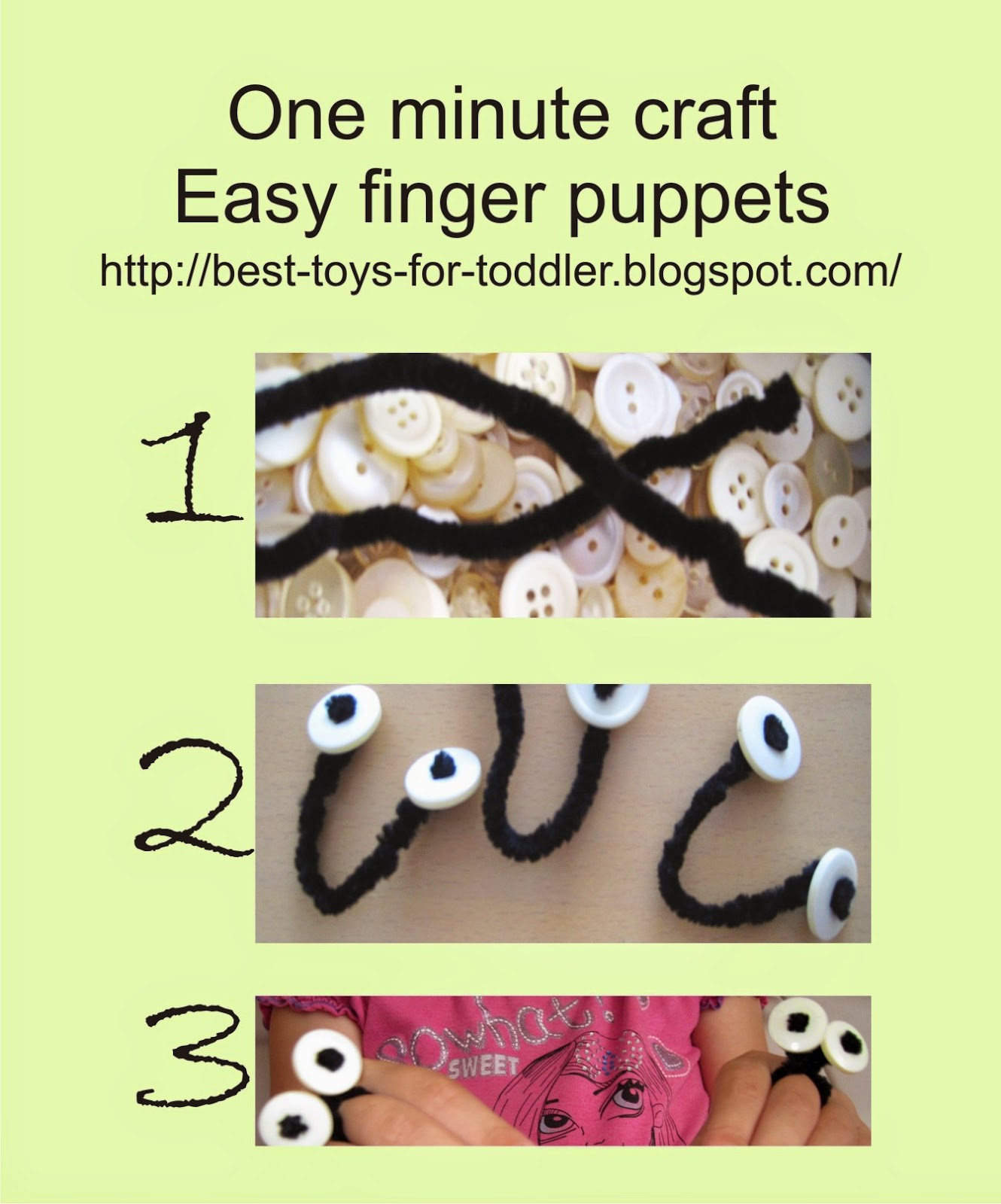 Oobi puppet craft
