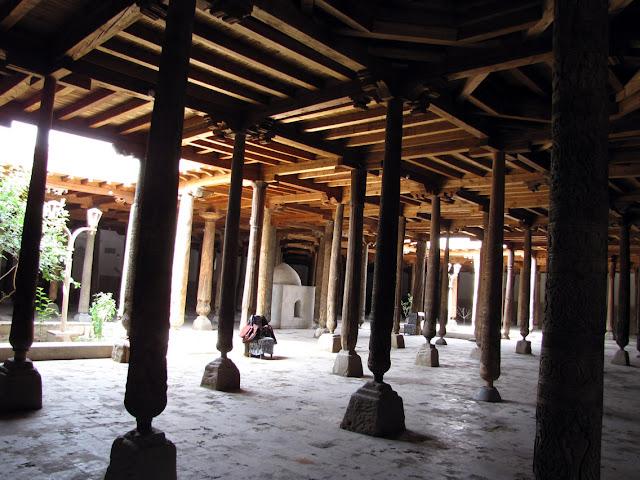 Uzbekistán, Khiva - Mezquita Juma