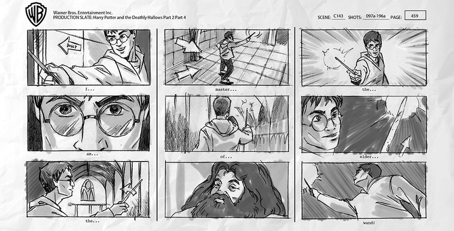 Story board Harry Potter