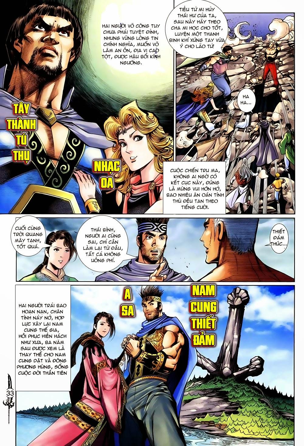 Thần Binh Huyền Kỳ II Chap 100 - Trang 31