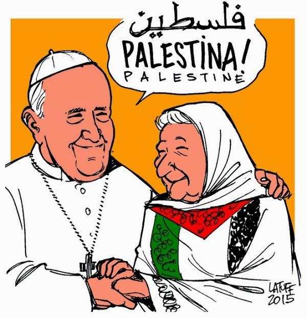 Papa Francisco reconhece o Estado da Palestina