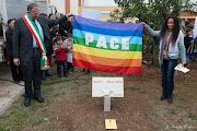 Agnese Ginocchio Testimonial per la Pace alla FESTA nazionale dell' ALBERO