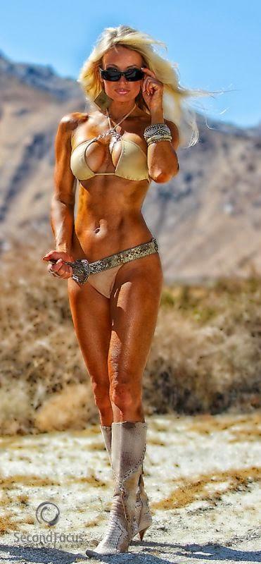 Sherry Goggin-female fitness girl-fitness beauty