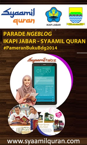 http://www.syaamilquran.com/lomba-blog-pameranbukubdg2014-bersama-ikapi-jabar-dan-syaamil-quran.html