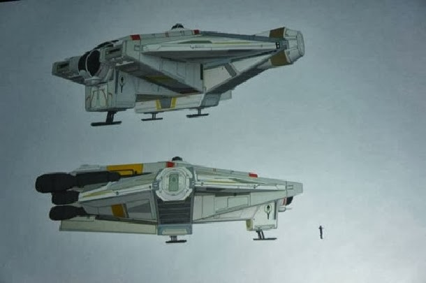 concepts arts Star Wars Rebels