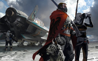 Destiny Video Game Concept Art Travellers Soldiers HD Wallpaper