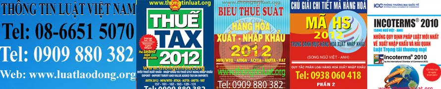 THNG TIN LUT, BIU THU XUT NHP KHU 2012, MI NHT, SONG NG, BIU THU 2012, DOWNLOAD, PDF